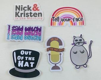 Nick & Kristen Sticker Pack #1