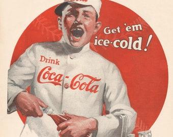 1920s Coke Ad Etsy