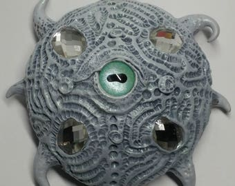 Ancient Coral Creature with Jewels
