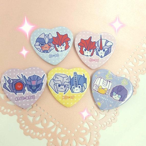 Shipping Heart Buttons