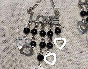 Boho Chic Love Chandelier Bead  Earring  Dangle Gifts