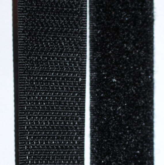 White or Black  Hook /& Loop VELCRO Brand Sew On Tape 20 mm x 1 m