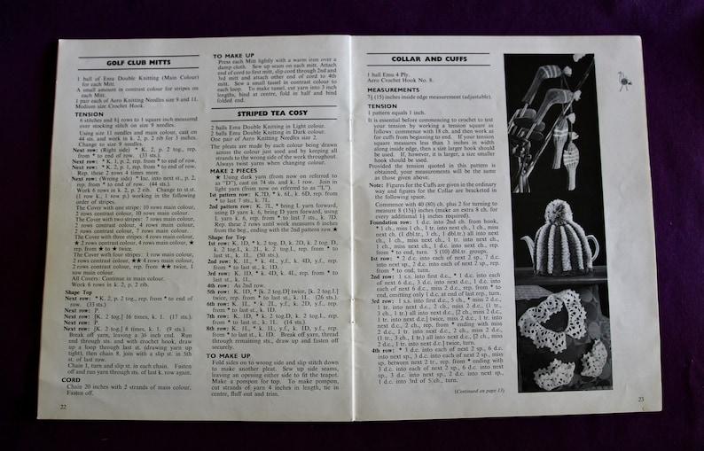 Emu Odd Ounce Book 6359 Vintage Knitting and Crochet Pattern book
