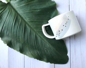 Modern Wabi Sabi Brush Strokes Mug