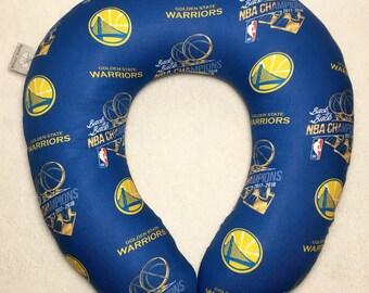 e0168c05d Golden State Warriors- Adult Size Travel Pillow