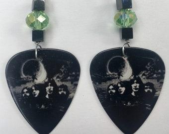 1 Pair- Pink Floyd Guitar Pick Earrings