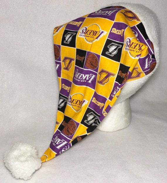41975d6735 LA Lakers Adult Size Santa Hat