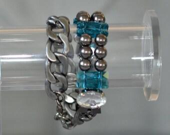 40x24x21mm Nugget Drusy Amethyst Gemstone Pendant Bead Y4407 18.3g