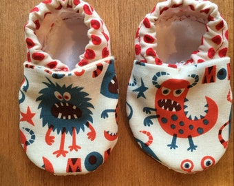Soft sol baby shoes, crib shoes, baby booties