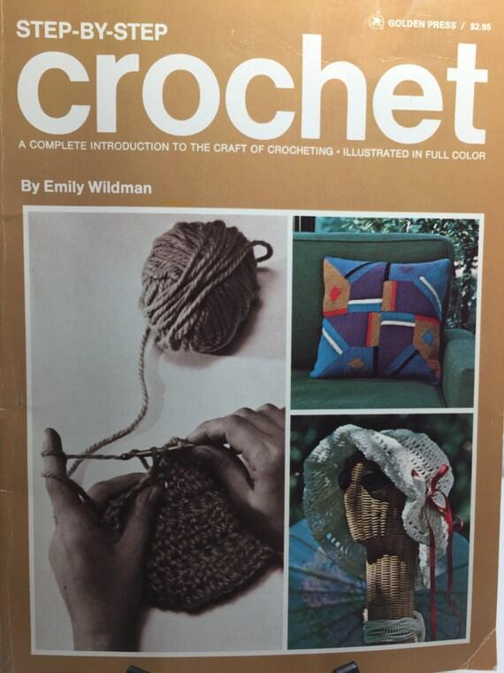 Libro de crochet de oro prensa Crochet paso a paso patrón y | Etsy