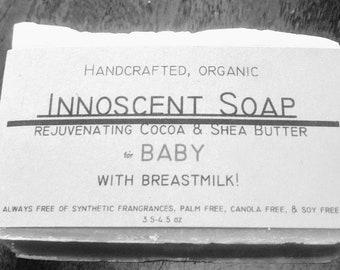 Baby breastmilk Soap