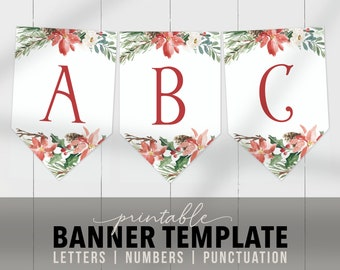 letters flags banner etsy