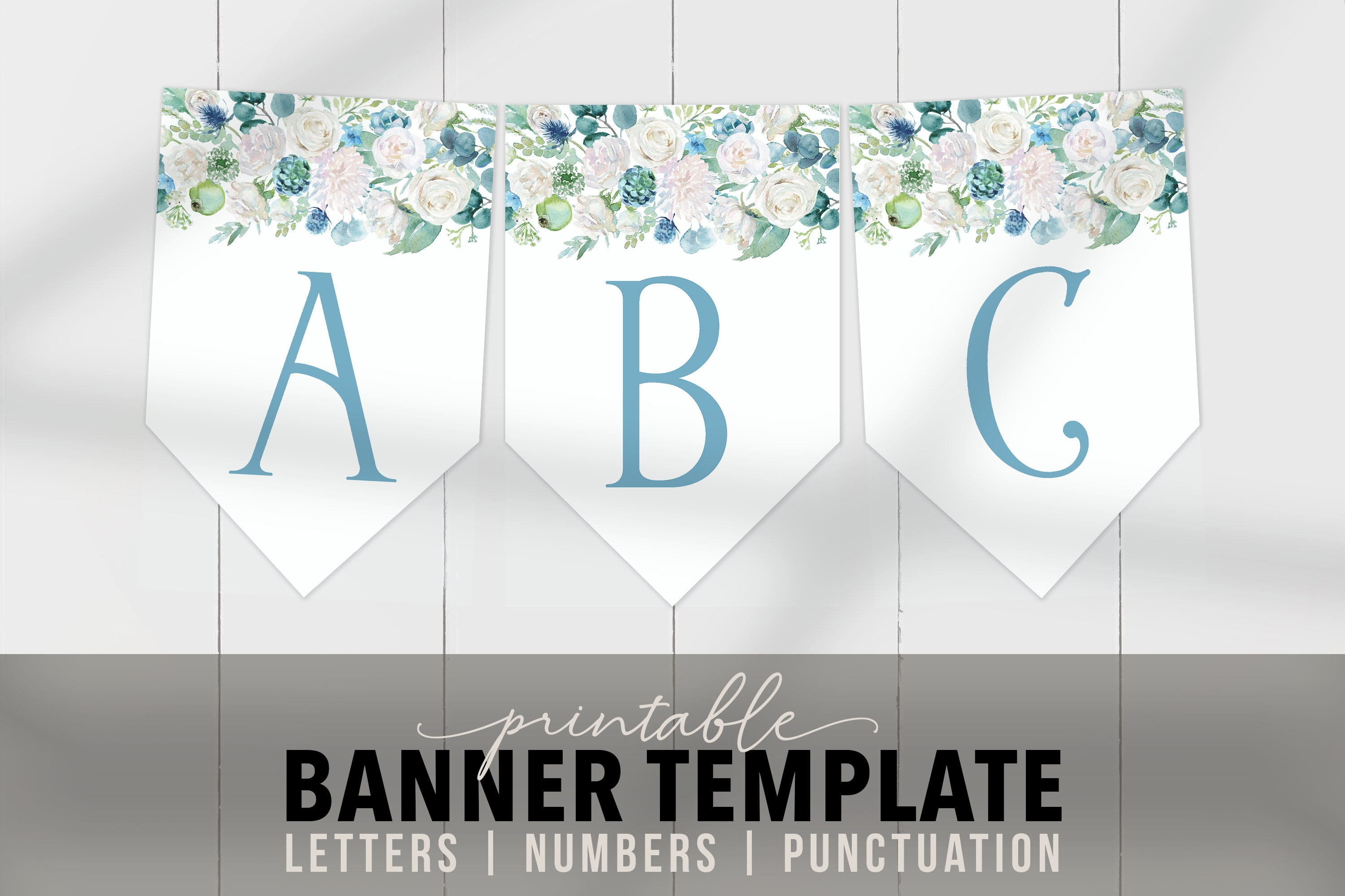 Baby Banners Template from i.etsystatic.com