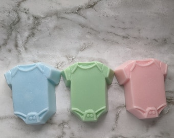 Onesie Soap, Baby Shower Favors, Baby Themed Soap, Baby Boy Shower Favors, Baby Girl Shower Favors, Baby Shower Soaps