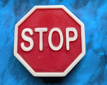 Stop Sign Soap, Crossing Guard Gift