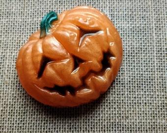 Pumpkin Soap, Jack O Lantern Soap, Halloween Gift, Pumpkin Shaped Soap