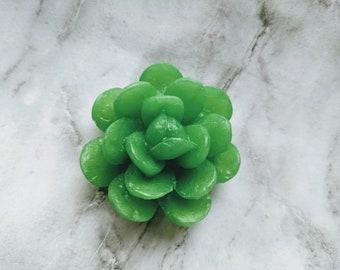 Succulent Soap, Mini Succulent Soap, Plant Soap, Vegan Soap, Plant Lover Gift