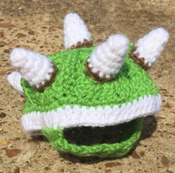 Bowser Box Turtle Sweater Cozy Green Or Black Crochet Pet Etsy