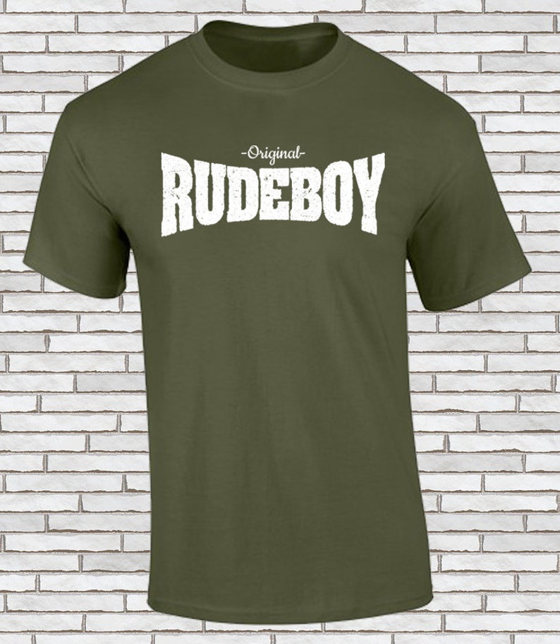 4672312d Rude boy t shirt Old school Ska rocksteady and reggae   Etsy