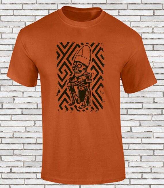 Aztec t-shirts! Le Seigneur de Mictlan! Mictlantecuhtli boss de de de la pègre! Impression d'écran! 029aaa