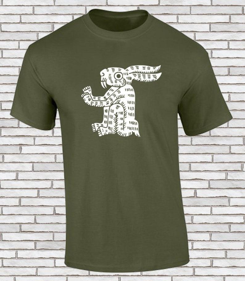 Playeras Aztecas Conejo... Tochtli Camisetas con  44b5a505f7587