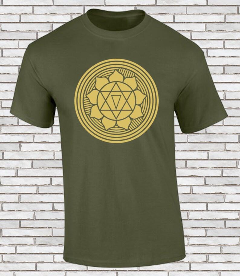 9b476323 Gayatri Yantra Mandala T Shirt Sacred Geometry Screen | Etsy