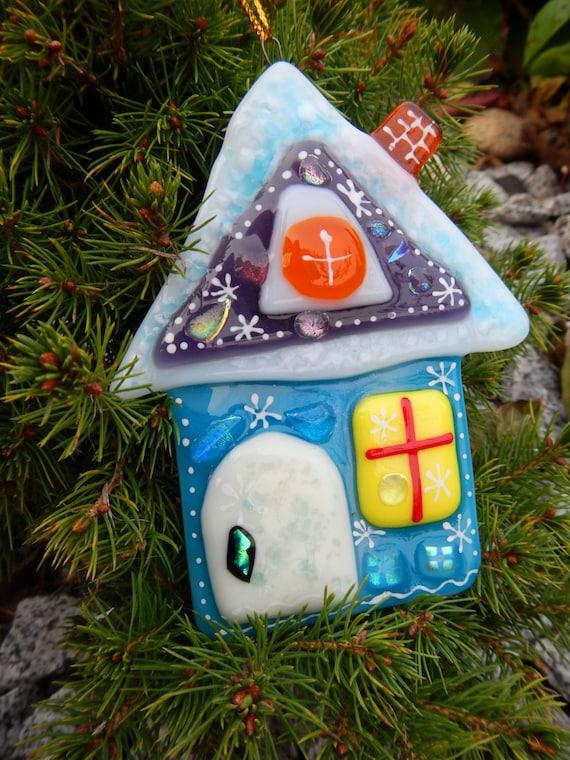 Christmas Gift Ideas Glass Christmas Decoration Winter Etsy