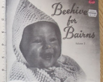 Beehive for Bairns Volume 3 / Beehive book 903 / Baby knitting patterns / Beehive book 10