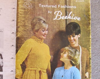 Textured Fashions by Beehive / Patons Book No. 107