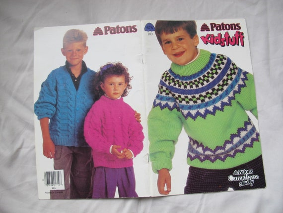 2115f07dff9b99 Patons Kidstuff   colourful children s sweater knitting