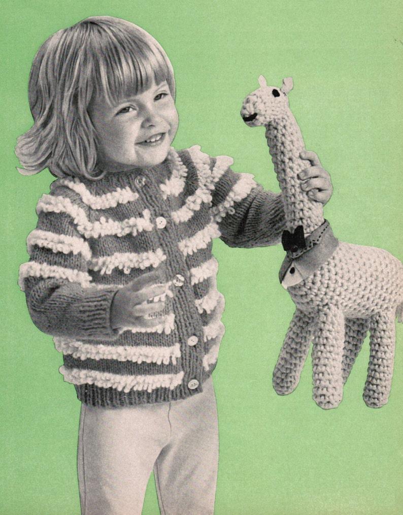 CROCHET PATTERN CHILDRENS GIRAFFE ANIMAL SCARF 44 INCHES LONG PDF