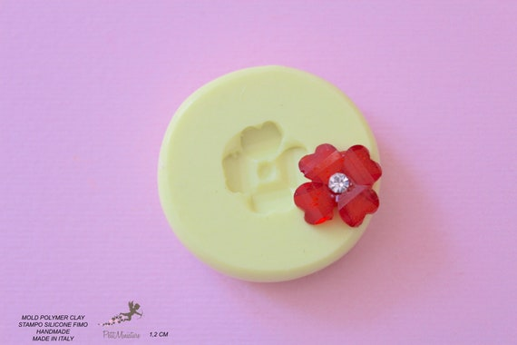 Plate Small Mold-Silicone Mold-Dollhouse Miniatures-Polymer Clay Mold-Fimo Mold-Jewelry Molds-Silicone Molds-Handmade-Made in Italy-ST520