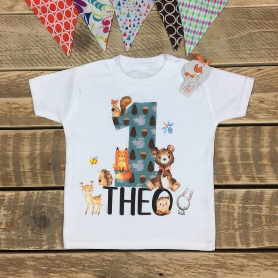 1st Birthday T Shirt My First