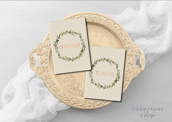 Wedding Officiant Speech.Wedding Officiant Book Officiant Gift Wedding Speech Officiant Vow Book Officiant Notebook Officient Thank You Gift
