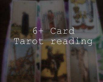 6(+) card tarot reading