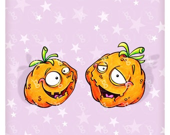 "digi stamp set ""pumpkins"""