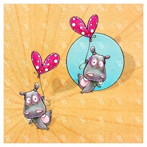 Digi Stamp Handheld Hippo V8