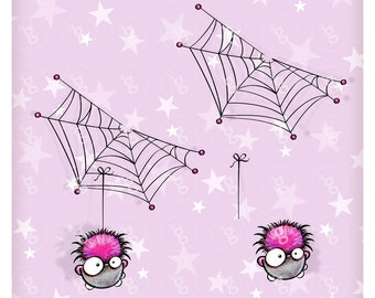 "digi stamp set ""itty-bitty spider"""