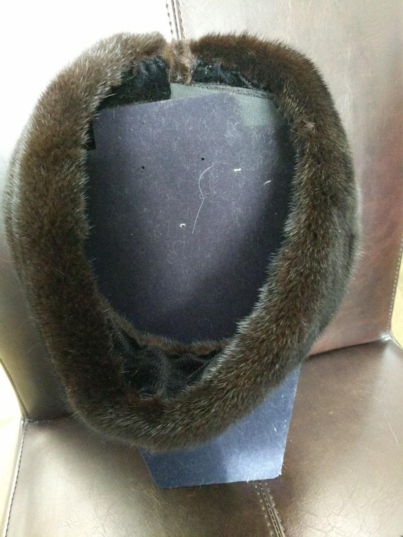 Black Mink Luxurious Headband