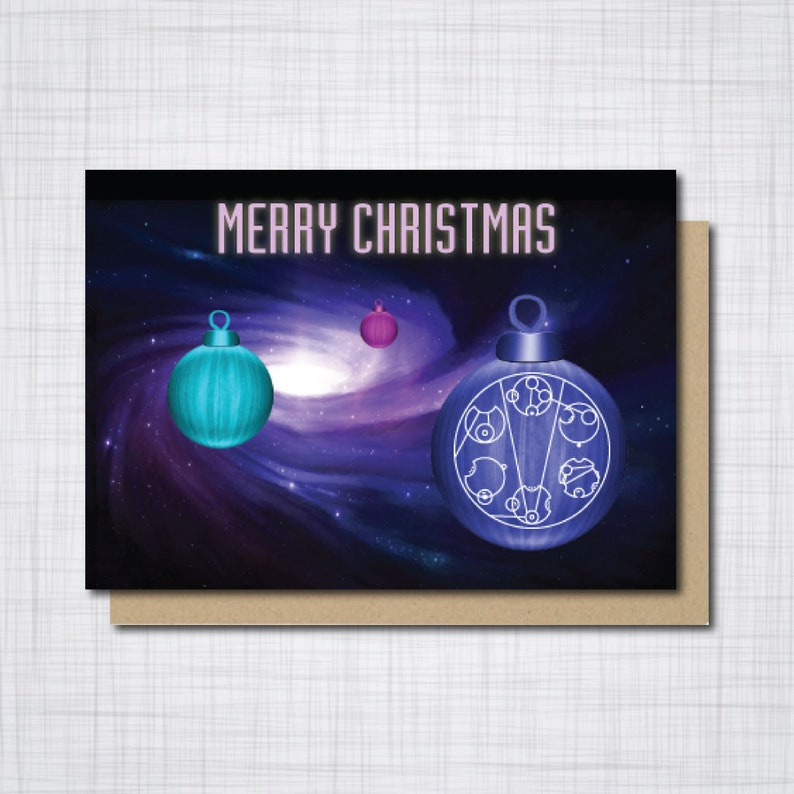Doctor Who Christmas Cards.Doctor Who Christmas Card Dr Who Christmas Card Gallifreyan Greetings Card Geek Christmas A6 Size 300 Gsm Blank Inside