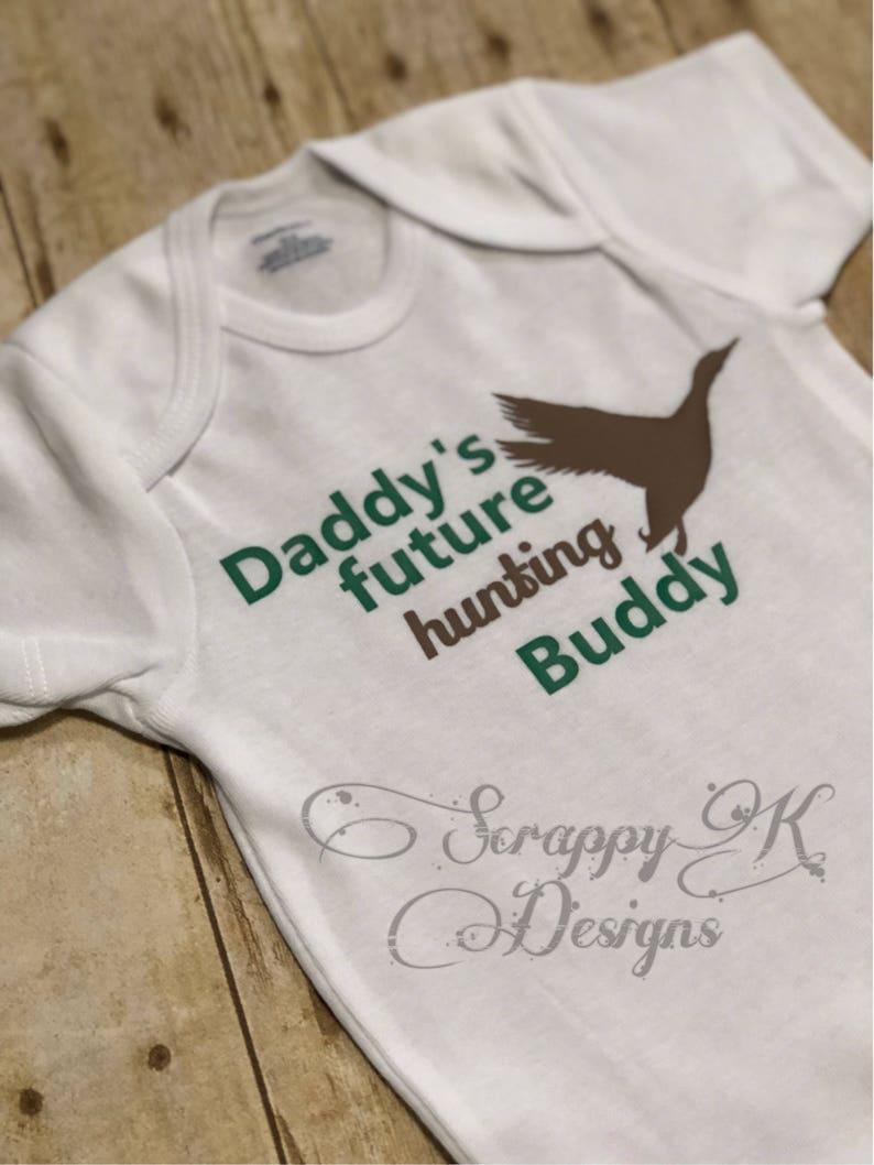 8164172691798 Future Hunting Buddy Duck Hunting Onesie Baby Onesie Baby | Etsy