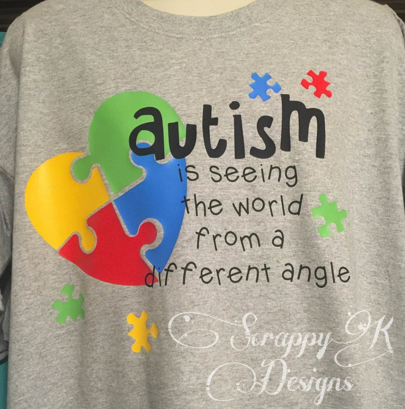 600ea5cce Autism T-shirt for Autism Awareness Autism Mom T-shirt | Etsy
