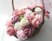 Rose Gift Basket, Flower ...