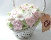 Baby Pink Gift Basket - H...