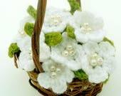 Handmade Snow White Croch...