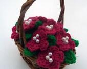 Crochet Basket - Deep Pin...