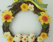 Spring Wreath with Easter...