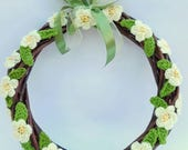 Spring Wreath - Handmade ...