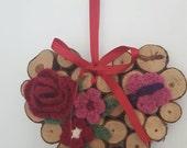 Valentine Art - Wooden He...