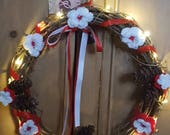 Door Wreath - Traditional...